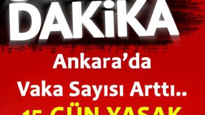 15 GÜN YASAK GELDİ !!