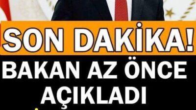 BAKAN AÇIKLADI. 500 BİN TABLETİ ALACAK KİŞİLER NETLEŞTİ..
