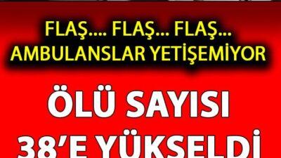 Türkiye'yi Kahreden Son Dakika Gelişmesi…. Maalesef Çok Sayıda Kaybımız Var
