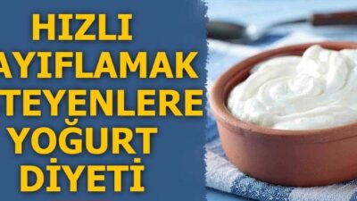 Patates Yoğurt ile Zayıflama Kürü