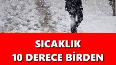 KAR YAĞIŞI GELİYOR..