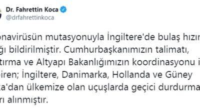 Son dakika… Türkiye 4 ülkeye kapılarını kapattı