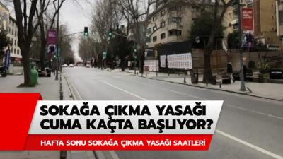 Hafta sonu (13-14 Şubat) sokağa çıkma yasağı var mı? Sokağa çıkma yasağı saatleri açıklandı