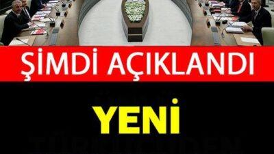 AZ ÖNCE AÇIKLANDI! 81 İLE YASAKLAR GERİ DÖNDÜ!