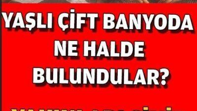 Türkiye Bu Haberi Konuşuyor…. Yaşlı Çiftin İbretlik Sonu